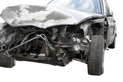 Car after an accident Royalty Free Stock Photography