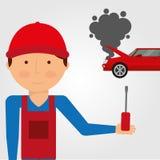 Car accident. Design, vector illustration eps10 graphic Stock Photo