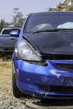 Car accident, damage car Stock Image