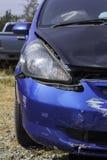 Car accident, damage car Royalty Free Stock Photos