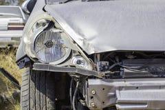 Car accident, damage car Stock Photos