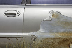 Car accident, damage car Stock Image