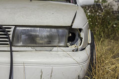 Car accident, damage car Royalty Free Stock Images