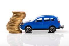 Car accident and insurance concept Stock Photo