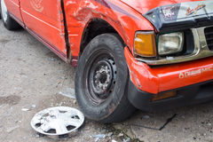 Car accident Royalty Free Stock Image