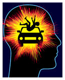 Car Accident Trauma Royalty Free Stock Photo
