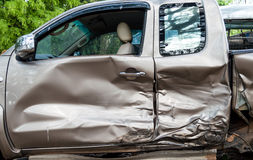Car accidents stock image