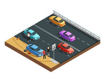 Car Accidents Composition Stock Image
