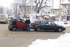 Car accidents Stock Photo