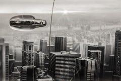 Car aerography Stock Image