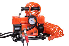 Car air compressor Royalty Free Stock Images