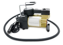 Car air compressor Royalty Free Stock Photo