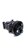 Car air compressor royalty free stock photo