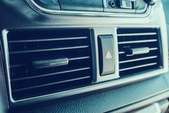 Car Air Conditioner. Close up Royalty Free Stock Images