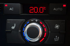 Car air conditioner Royalty Free Stock Image
