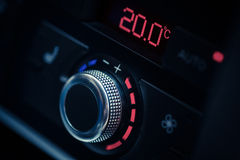 Car air conditioner Stock Images
