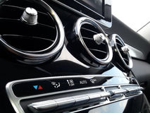 Car Air Conditioner. Close-up view Royalty Free Stock Image