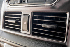 Car Air Conditioner. Closeup of Car Air Conditioner Stock Photography
