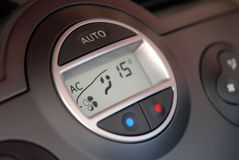 Car Air Conditioner Royalty Free Stock Photos