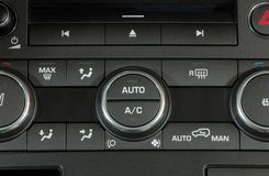 Car Air Conditioner Royalty Free Stock Photos