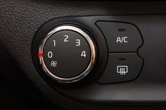 Car Air Conditioner Stock Photography