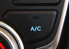 Car Air Conditioner Royalty Free Stock Photo