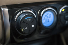 Car air conditioner panel toggle switches Stock Photography