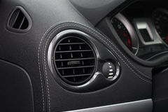 Car air conditioning Stock Photos