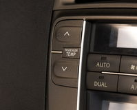 Car air conditioning Royalty Free Stock Photography