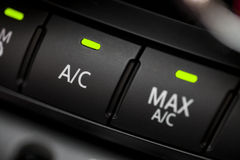Car air conditioning Royalty Free Stock Image