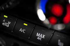 Car air conditioning Stock Image