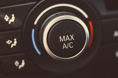 Car air conditioning Royalty Free Stock Photo