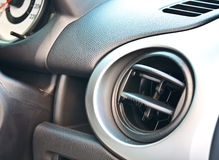 Car air conditioning outlet Royalty Free Stock Images