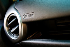 Car air conditioning outlet Royalty Free Stock Photo