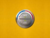 Free Car Air Cooling Control. Royalty Free Stock Photography - 76438047