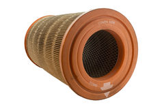 Car air filter,. Be taken changed Around 40,000 km of motor Diesel Stock Photos