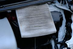 Car air filter royalty free stock image