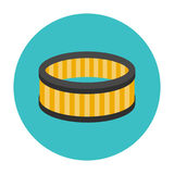Car air filter icon Royalty Free Stock Image