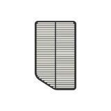Car air filter. On the white background. Vector illustration Royalty Free Stock Photo