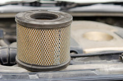 Car Air Filters Stock Photo