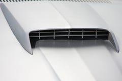 Air intake. High performance engine intake stock photo