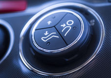 Car Air Interior Details Royalty Free Stock Images