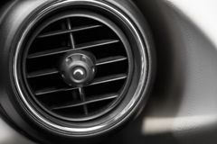 Car air vent Stock Image