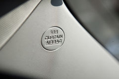 Car airbag Royalty Free Stock Images