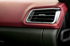 Car airbag panel. Royalty Free Stock Photos
