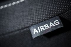 Car Airbag Safety Feature Stock Photos