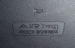 Car airbag sign 1 Stock Photos