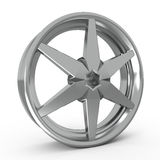 Car alloy rim Royalty Free Stock Image