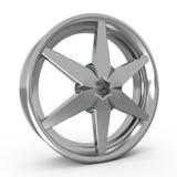 Car alloy rim. 3d illustration royalty free illustration