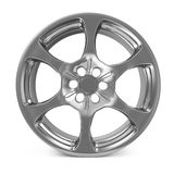 Car Alloy Rim Stock Image